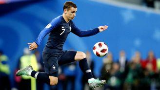 Antoine Griezmann, durante un juego con Francia