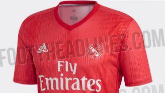 Éste podría ser el posible tercer jersey del Real Madrid