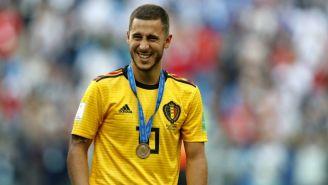 Hazard, feliz tras ganar el tercer lugar de Rusia 2018