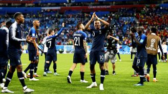 Francia festeja pase a la Final del Mundial de Rusia 2018