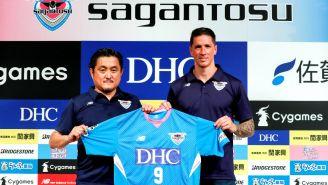 Niño Torres, presentado oficialmente como jugador del Sagan Tosu