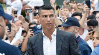Cristiano Ronaldo, a su llegada al J Medical