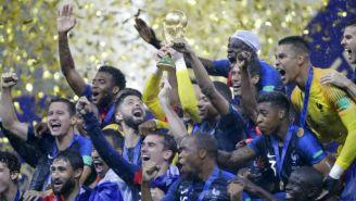 Francia levanta la Copa del Mundo en Rusia