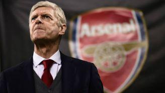 Arsene Wenger, en el banquillo del Arsenal