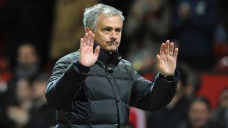 José Mourinho en un partido de la Premier League