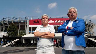 Marco Antonio Ramírez y Antonio Gutiérrez posan para la lente de RÉCORD