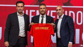 Luis Enrique es presentado con la selección española