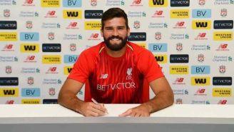Becker firma contrato con Liverpool