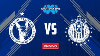 EN VIVO y EN DIRECTO: Xolos vs Chivas