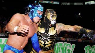 Penta ataca a Dragon Lee en la México