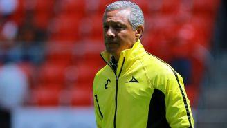 Roberto Hernández, durante el juego contra Toluca