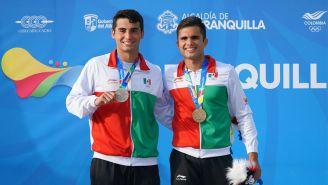 Iván García y Andrés Villarreal, ganaron el Oro y Plata en los JCC