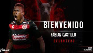 Fabián Castillo se transforma en nuevo jugador de Xolos