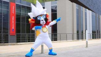 Baqui, mascota de los Juegos Centroamericanos Barranquilla 2018
