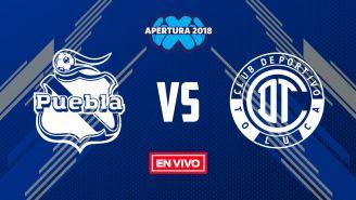 EN VIVO: Puebla vs Toluca