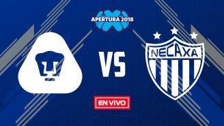 EN VIVO Y EN DIRECTO: Pumas vs Necaxa