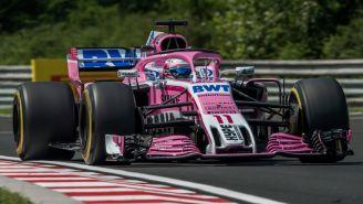 Checo recorre el circuito de Hungría