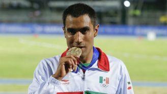 Juan Luis Barrios, con su medalla de Oro de Barranquilla 2018