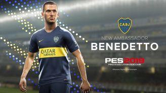 El Pipa será embajador del nuevo Pro Evolution Soccer