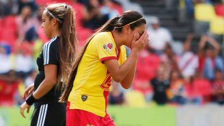 Madeleine Pasco se lamenta en un juego con Morelia