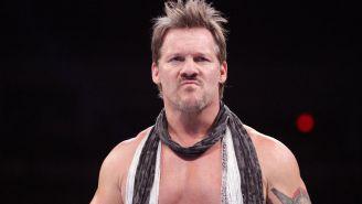 Chris Jericho en una lucha en WWE