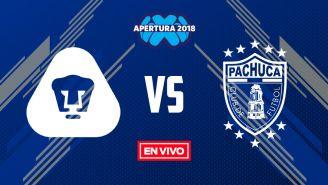 EN VIVO Y EN DIRECTO: Pumas vs Pachuca
