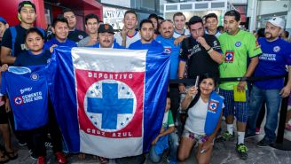Afición celeste recibe a Cruz Azul en tierras fronterizas