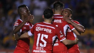 Toluca celebra victoria frente a los Tigres