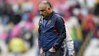 Memo Vázquez se la menta tras derrota de Veracruz