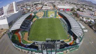 Estadio León en vista aérea