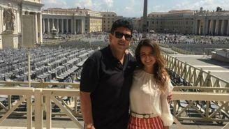 Fidel Kuri disfruta de sus vacaciones en el Vaticano
