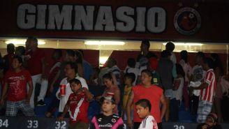Gimnasio de Veracruz funciona como vestidor local