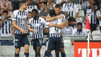 Monterrey celebra anotación frente a los Pumas
