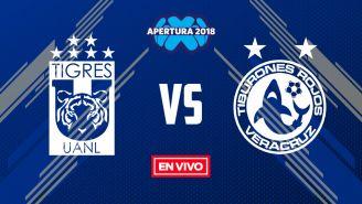EN VIVO Y EN DIRECTO: Tigres vs Veracruz