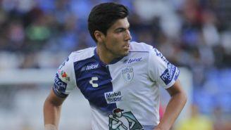 Érick Gutiérrez, en un juego con Pachuca en el A2018