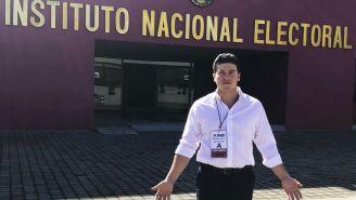 Samuel García, fuera del Instituto Nacional Electoral