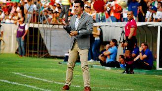 Michel Leaño, en su paso por el banquillo del Atlético Zacatepec