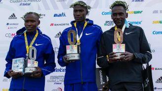 Ganadores del Maratón de la Ciudad de México