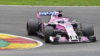 Sergio Pérez en el Gran Premio de Bélgica