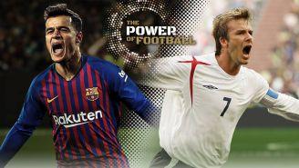 Coutinho y Beckham, los embajadores de PES 2019
