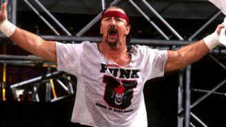 Terry Funk en Monday Night RAW
