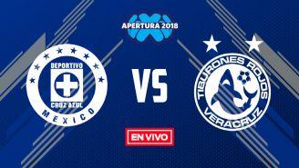 EN VIVO Y EN DIRECTO: Cruz Azul vs Veracruz
