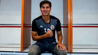 Mauro Lainez, en entrevista con RÉCORD