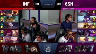 6Sense e Infinity se enfrentaron en Cuartos de Final