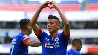 'Patrullero' celebra gol frente al Veracruz