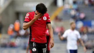 Mauro Lainez lamenta error en un duelo con Lobos BUAP