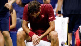 Federer, sofocado por el calor en el juego contra Millman
