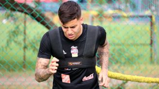 Luiz Humberto da Silva, durante un entrenamiento con Tigres