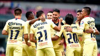 América festeja pase a Octavos de Final de la Copa MX