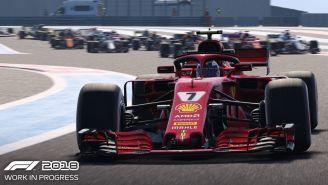Los vehículos en el nuevo F1 2018 lucen más reales que nunca